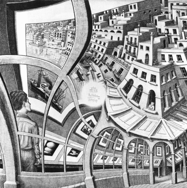 Maurits Cornelis Escher. Picture gallery