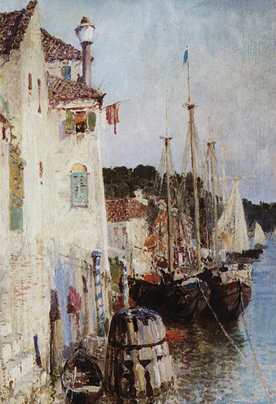 Василий Дмитриевич Поленов. Венеция