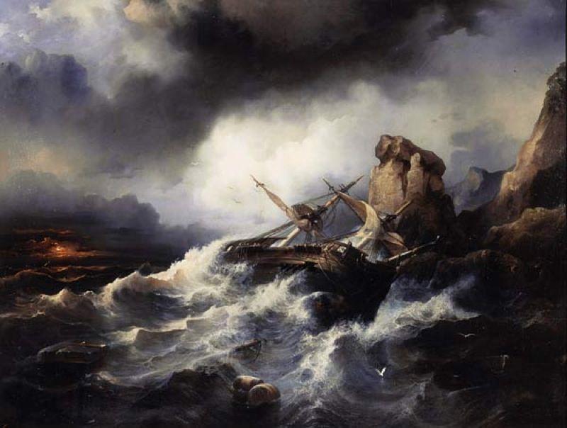 Филипп Таннер. Буря