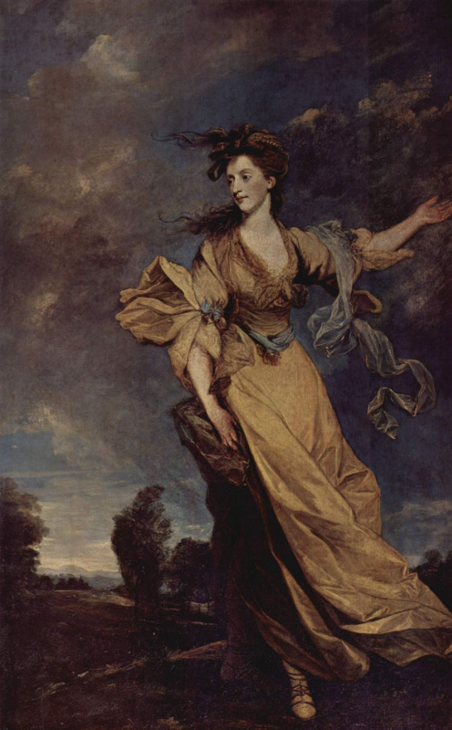 Joshua Reynolds. Lady Jane Halliday