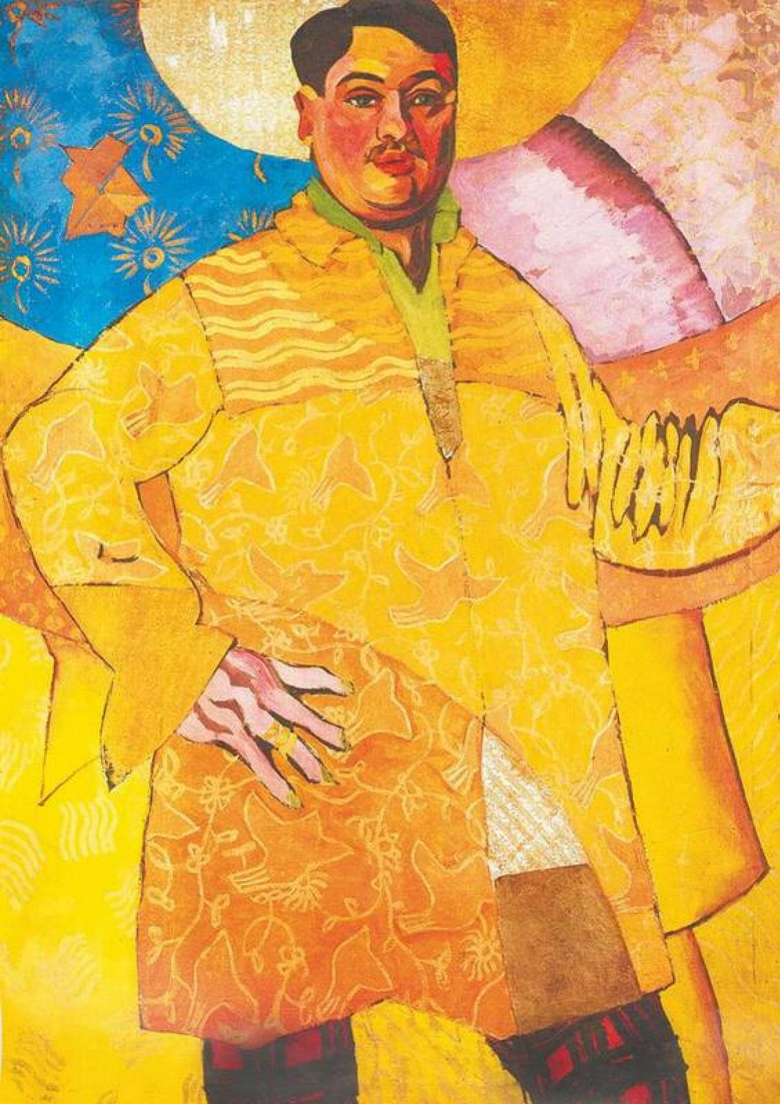 Аристарх Васильевич Лентулов. Автопортрет «Великий художник» (Le Grand Peintre)