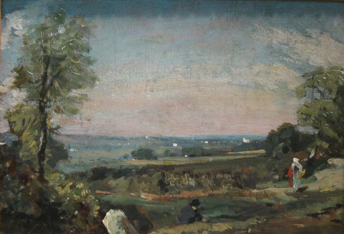 John Constable. Valley Of Dedham