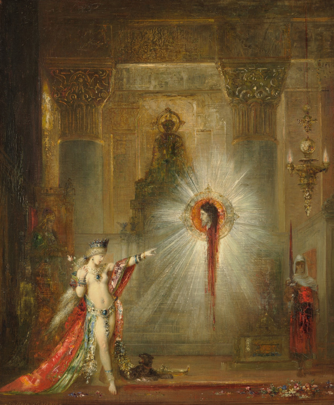 Gustave Moreau. Phenomenon. Salome and the head of John the Baptist