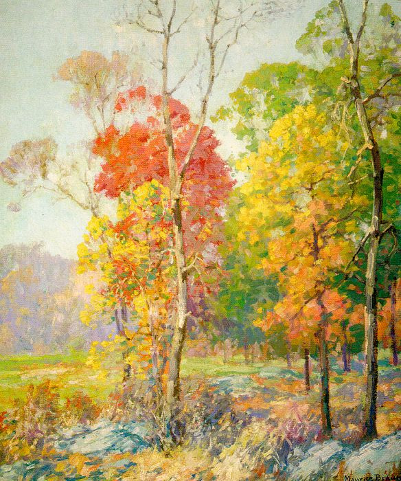 Maurice Brown. Autumn day