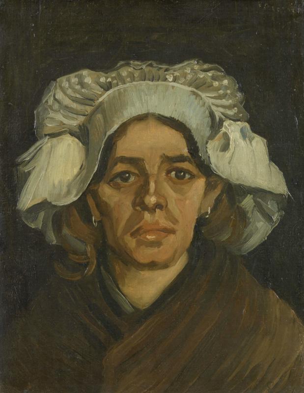 Vincent van Gogh. The woman