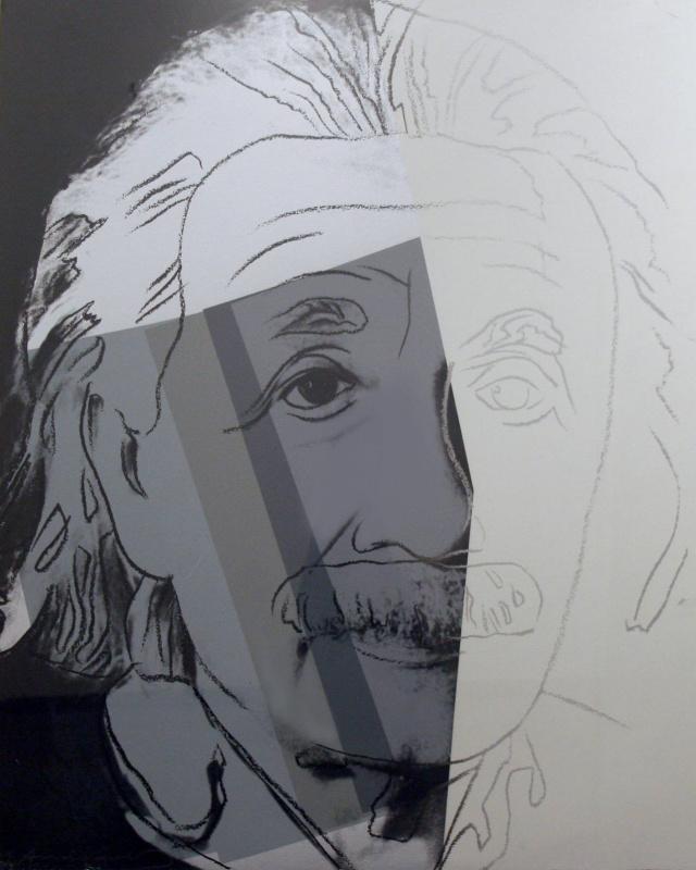 Энди Уорхол. Альберт Эйнштейн