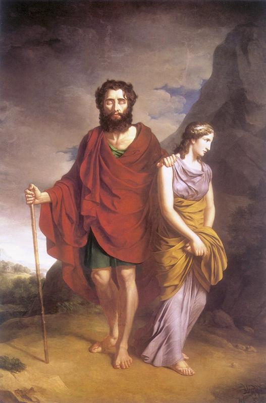 Эдип и Антигона
