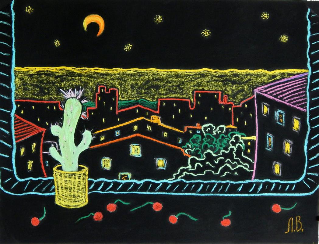 Lena Votkalenko. Cactus