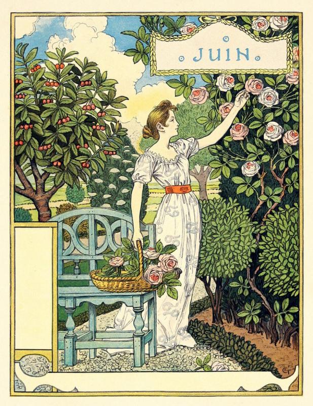 Eugene Grasse. June. Calendar