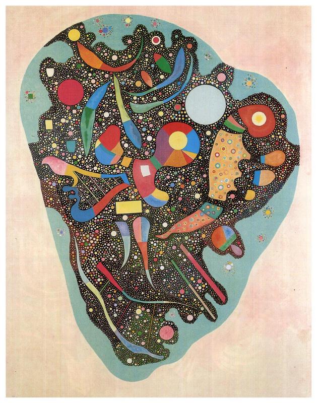 Wassily Kandinsky. Colorful ensemble