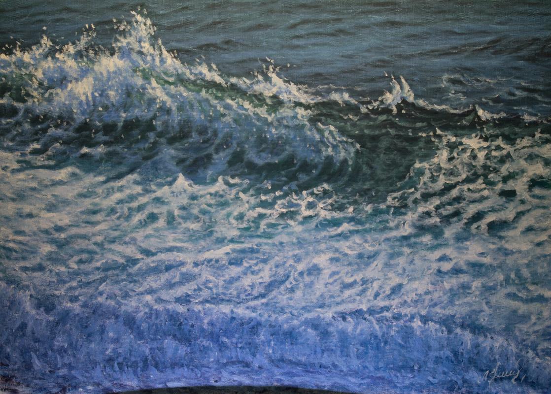 Valery Levchenko. № 550 Seascape.
