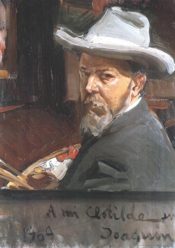 Хоакин Соролья (Соройя). Автопортрет