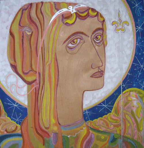 Vladimir Vasilyevich Plastinin. Archangel Michael