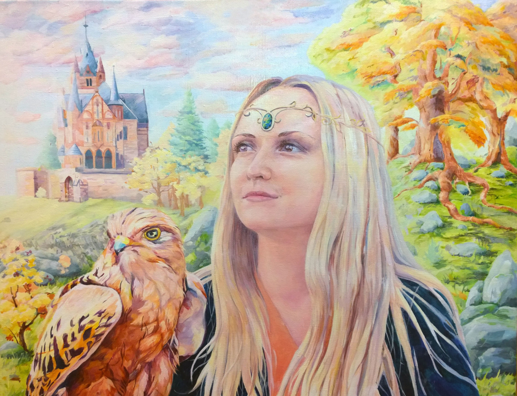 Сальфаир Salfair (Mariya Miroshnikova). Легенды Лесного Замка (фрагмент)