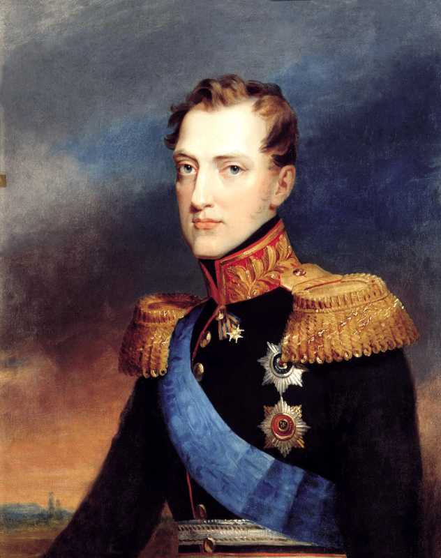 Vasily Golike. Portrait of Grand Duke Nikolai Pavlovich