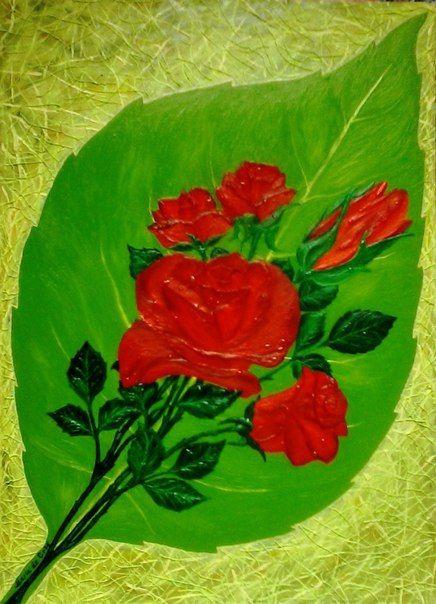Oksana Poryvaeva. A living bouquet