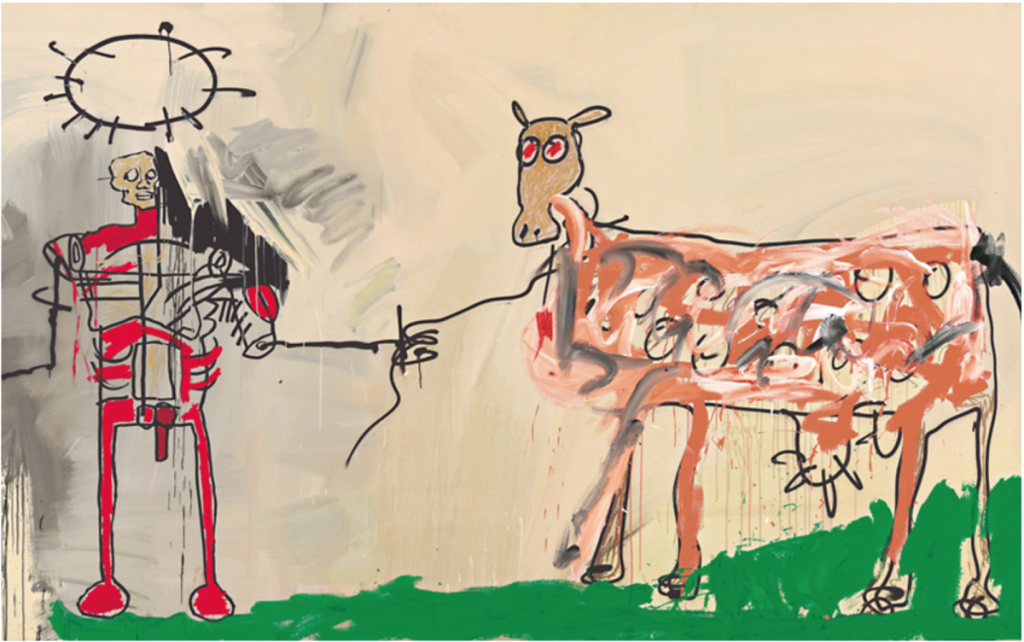 Jean-Michel Basquiat. The Field Next to the Other Road