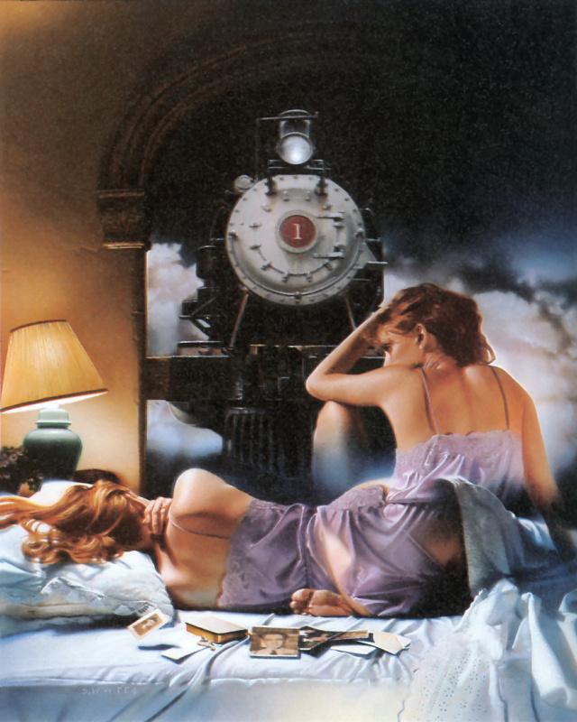Стэн Ваттс. Поезд