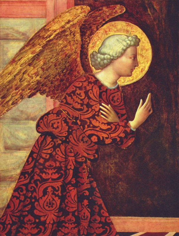 Томмазо Мазолино. Благовествующий ангел