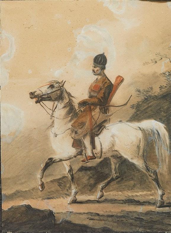 Горец на коне