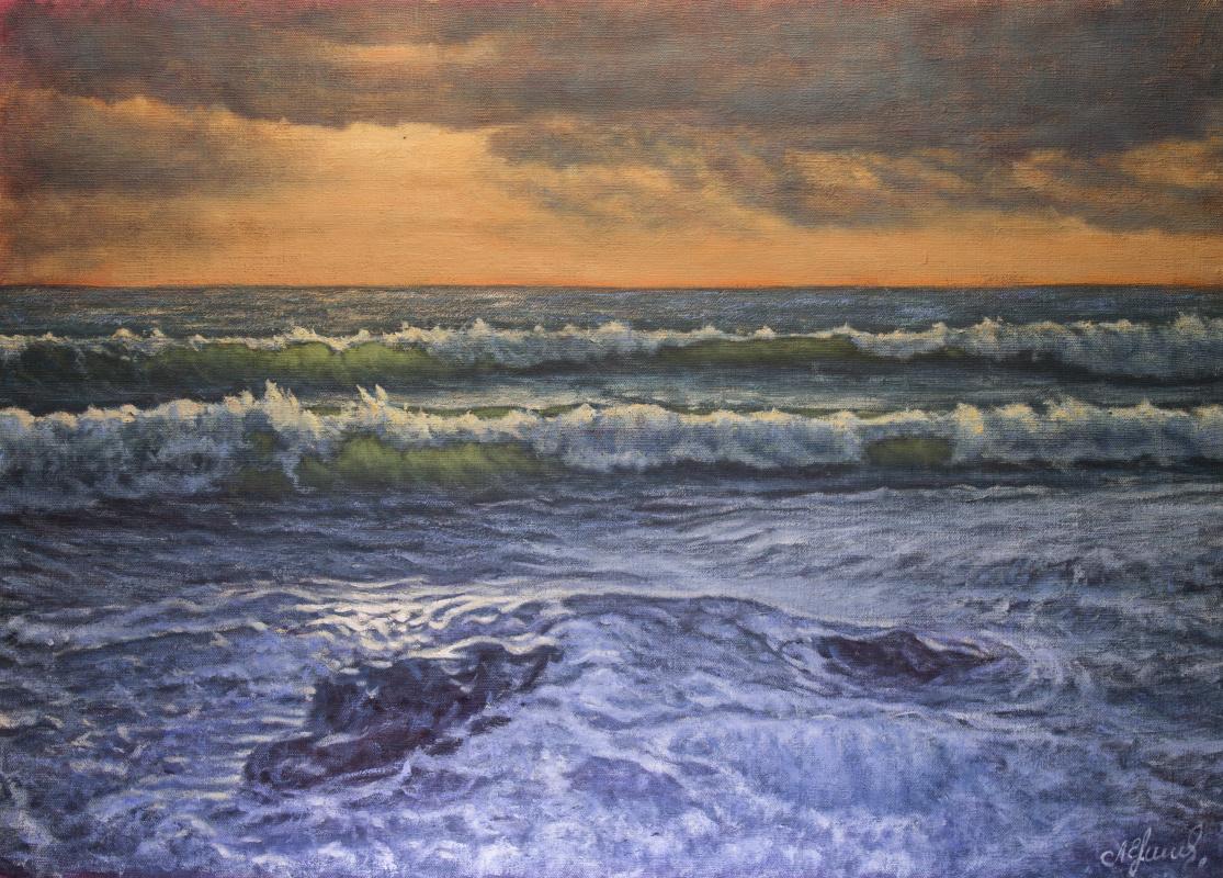 Valery Levchenko. № 587 Seascape.