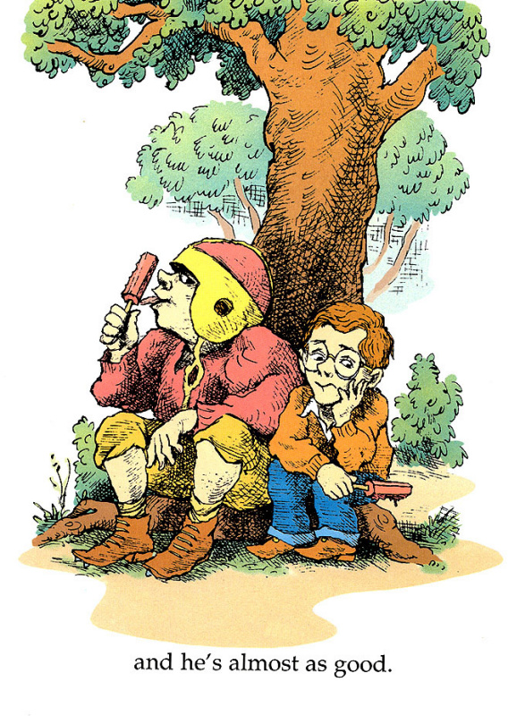 Мерсер Майер. Под деревом