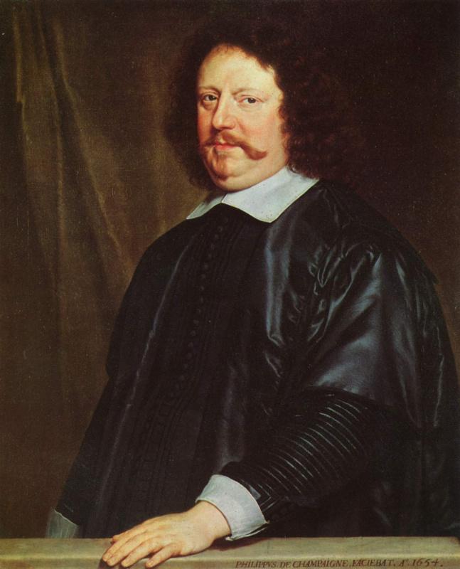 Philippe de Champigny. Portrait Of Henri Grolar