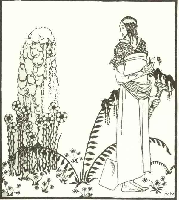 Кей Нильсен. Иллюстрация к  сказке  На восток от солнца, на запад от луны 06