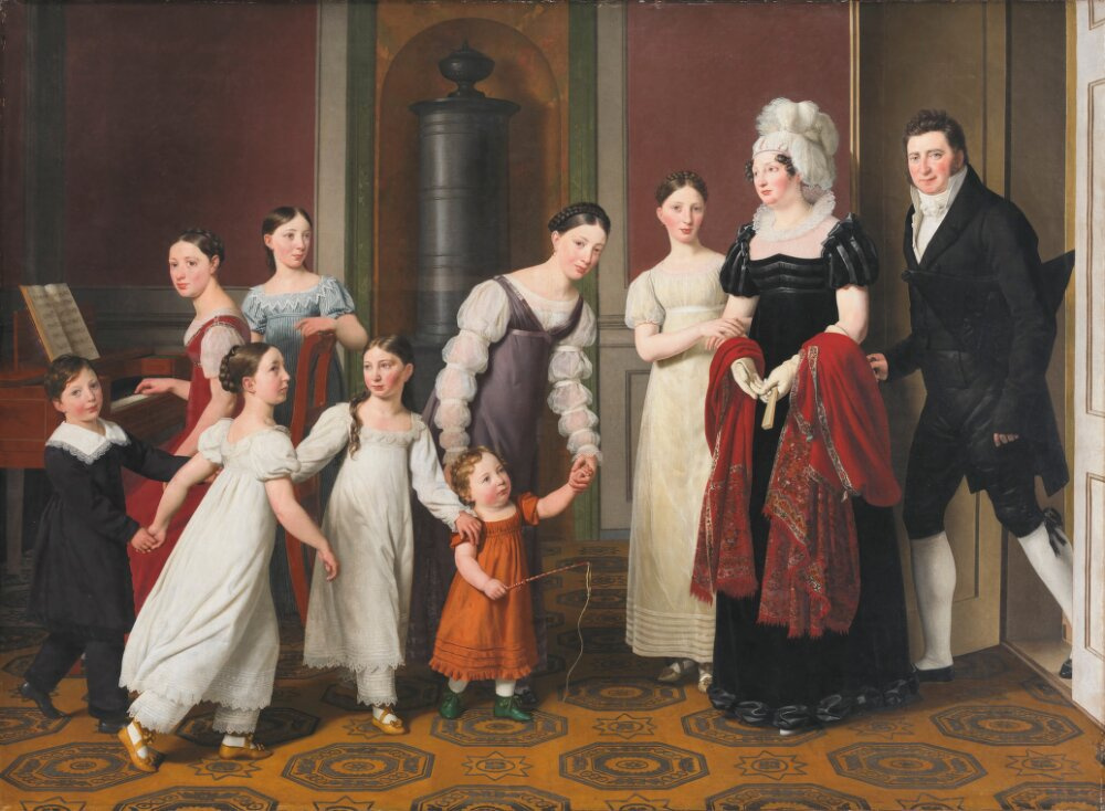 Christopher Wilhelm Eckersberg. The Nathanson Family