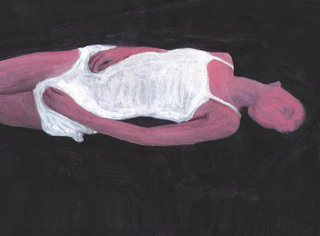 Nickie Zimov. The essence of loneliness