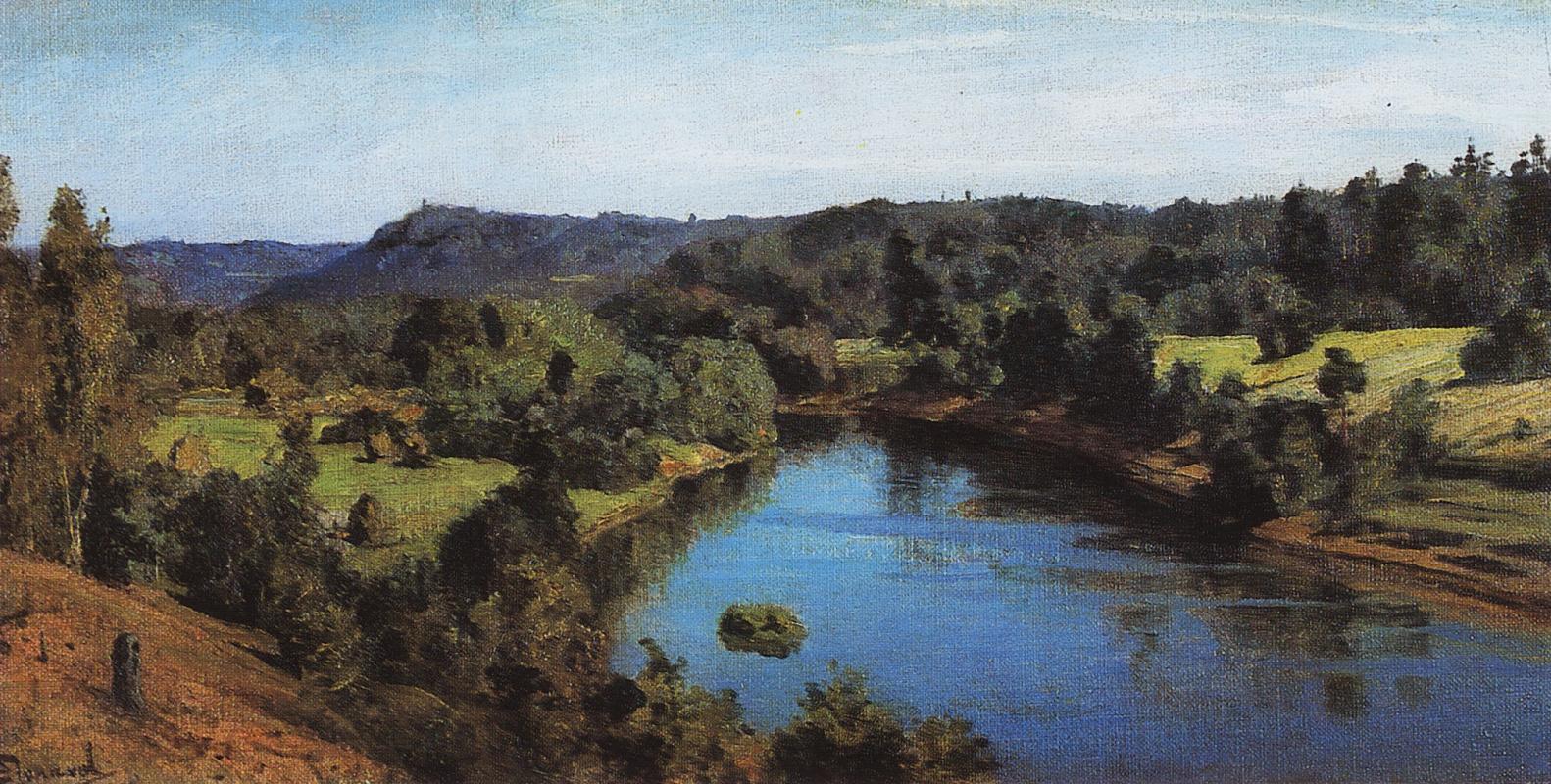 Vasily Polenov. Oyat River
