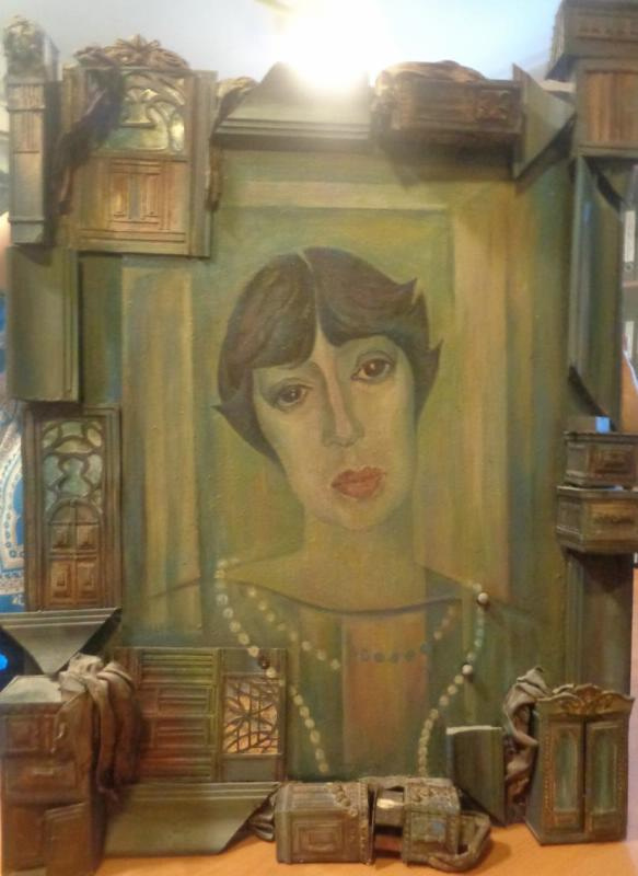 Tatiana Ilinichna Selvinskaya. Portrait of A. V. Hovhannisyan