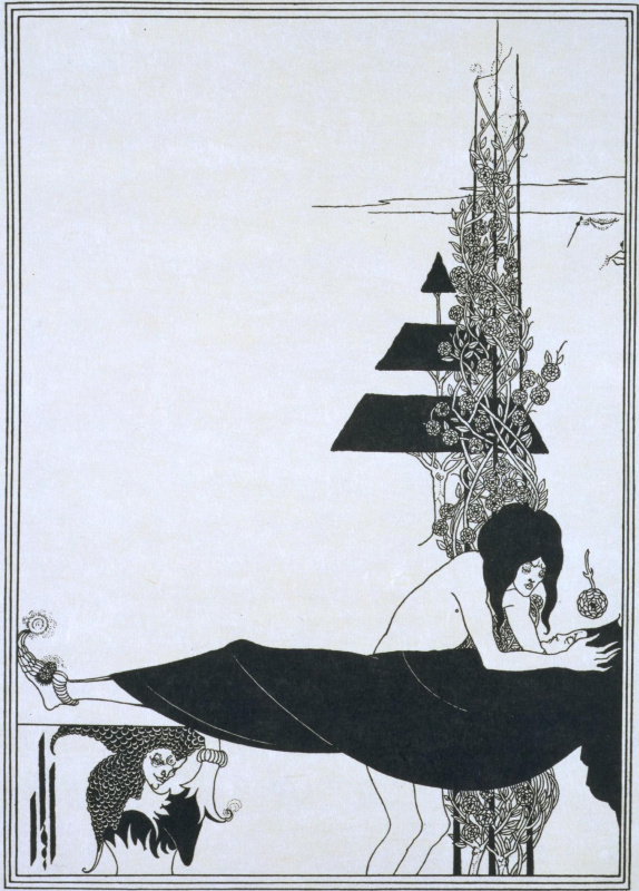Aubrey Beardsley. Platonic Lament