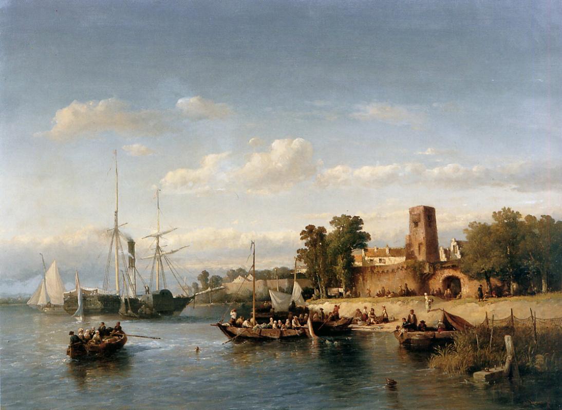 Salomon Leonardus Vervir. Boats