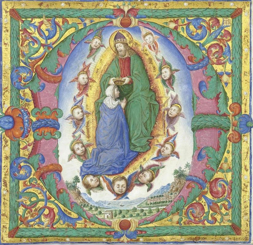 Бартоломео Капорали. Коронация Девы Марии