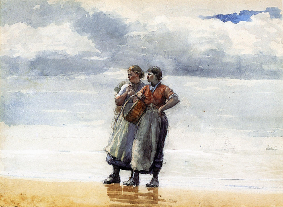 Winslow Homer. Daughter of the sea