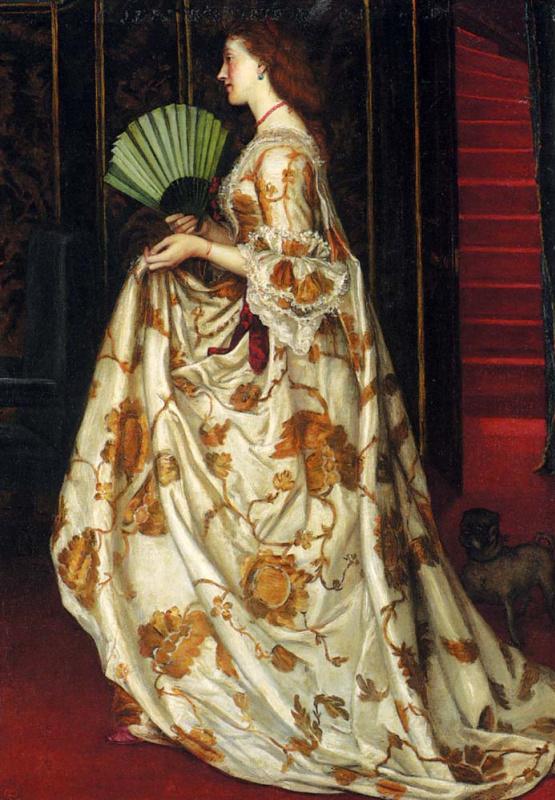 Валентин Принсеп. Моя леди Бетти (портрет жены художника)