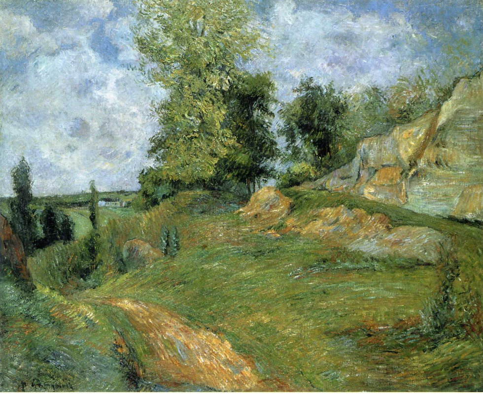 Paul Gauguin. Career in PONTOISE 2
