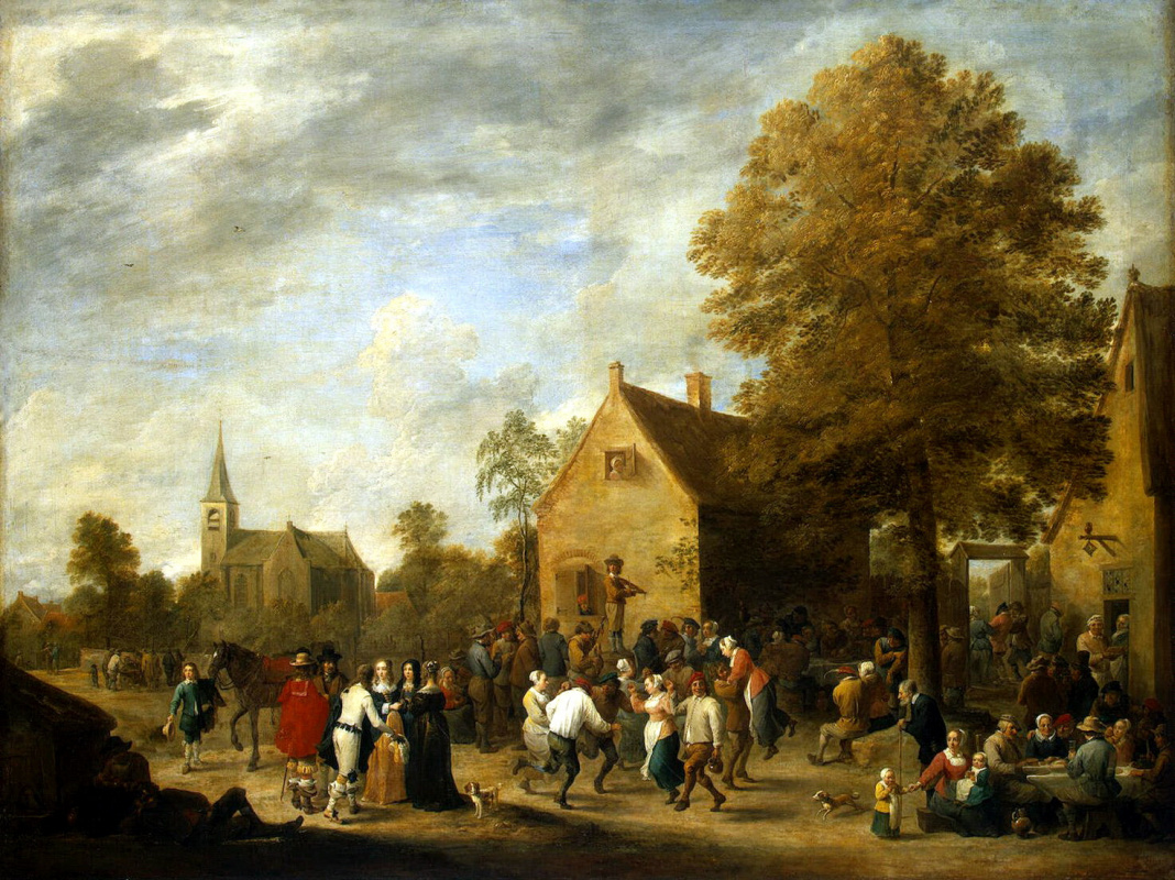 David Teniers the Younger. Rustic holiday
