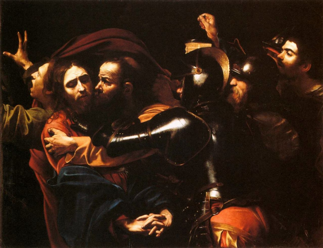 Michelangelo Merisi de Caravaggio. The taking of Christ into custody