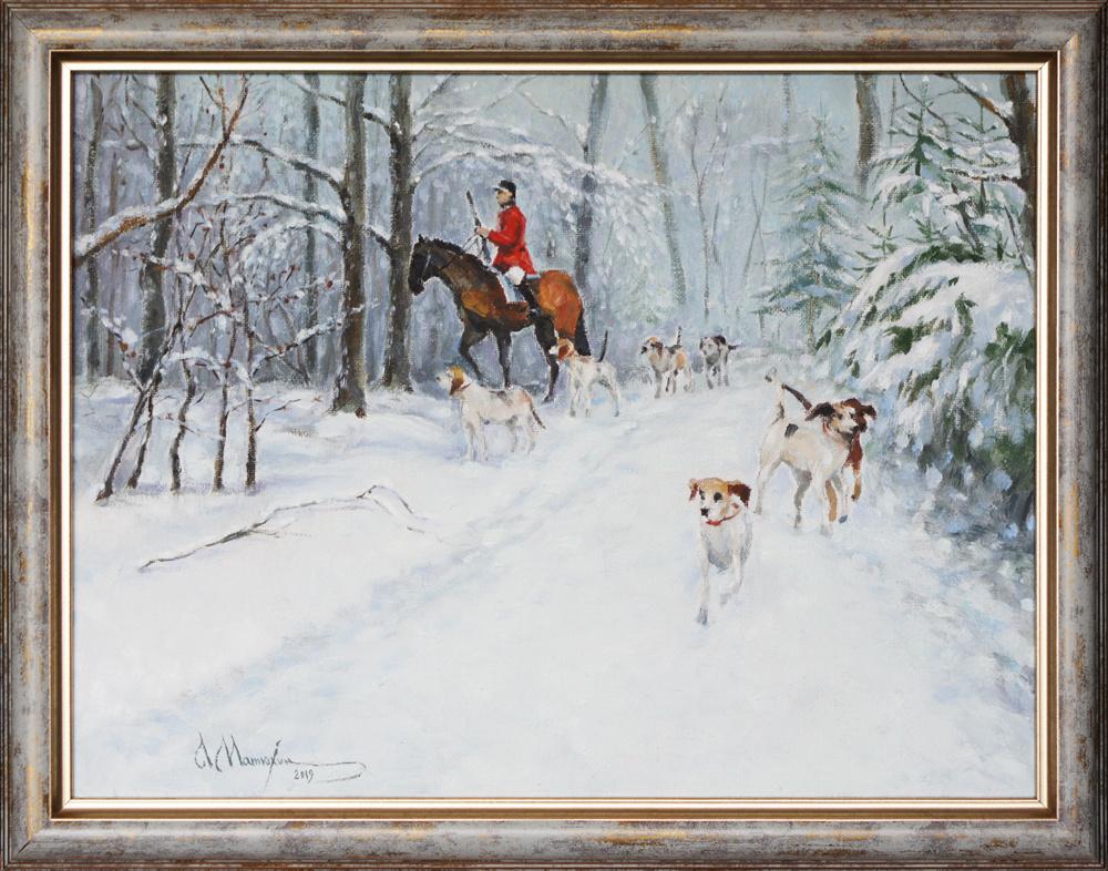 Alexander Matyukhin. Hunting (30x40 cm)