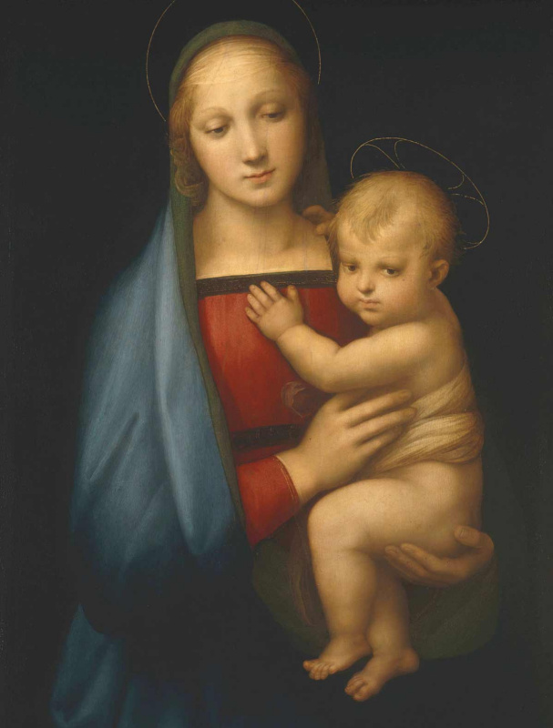 Raphael Sanzio. Madonna Granduca