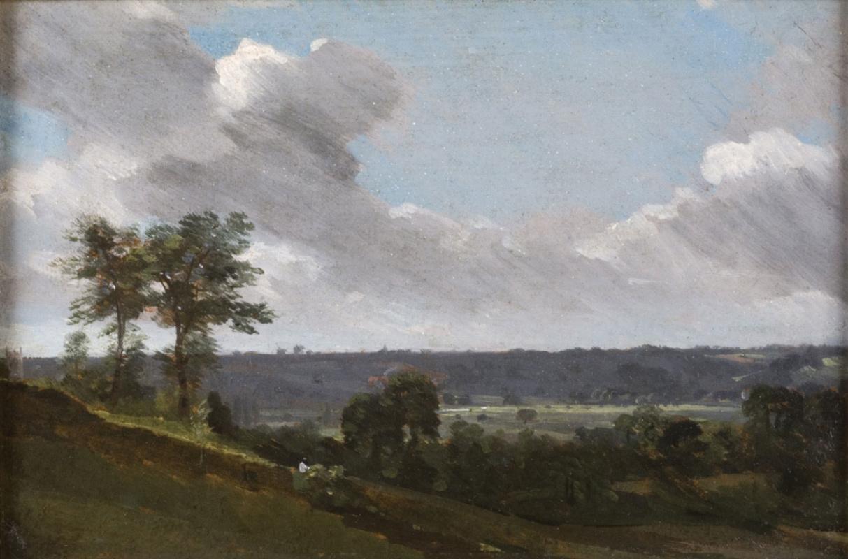 John Constable. Hilly landscape