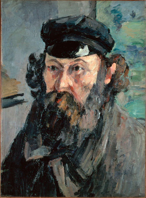 Paul Cezanne. Self-portrait
