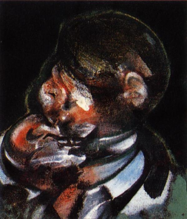 Фрэнсис Бэкон. Портрет мужчины в костюме