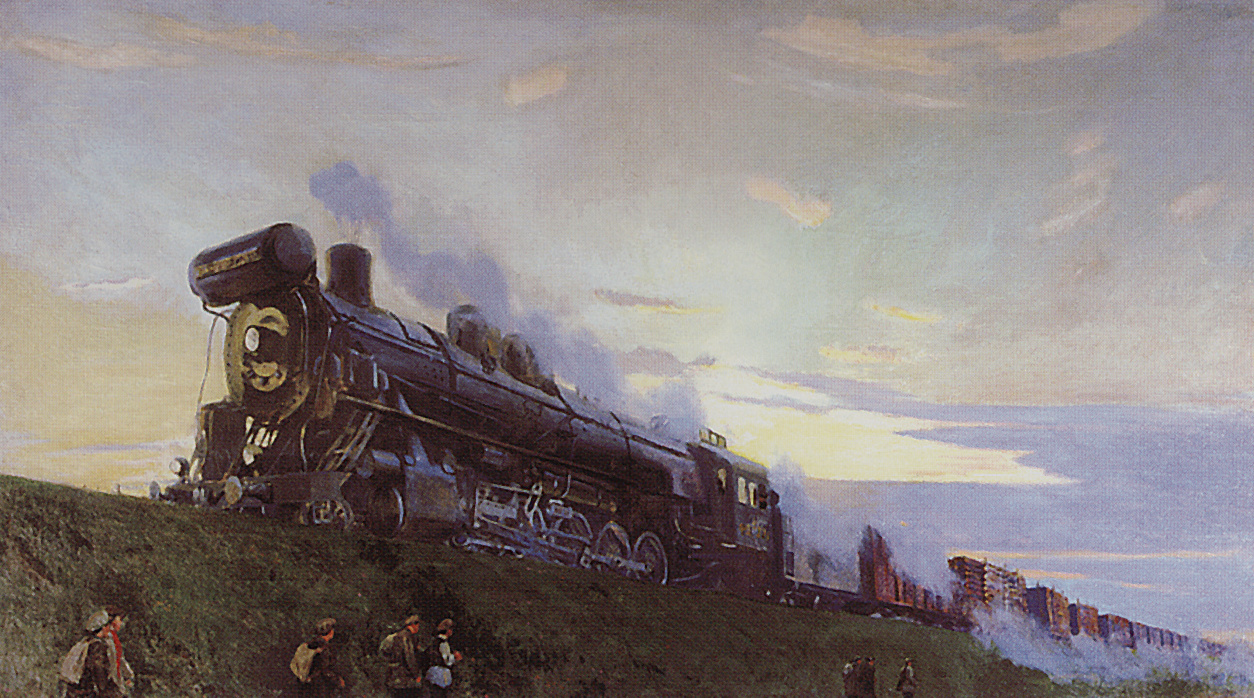 Arkady Alexandrovich Rylov. Heavy duty locomotive