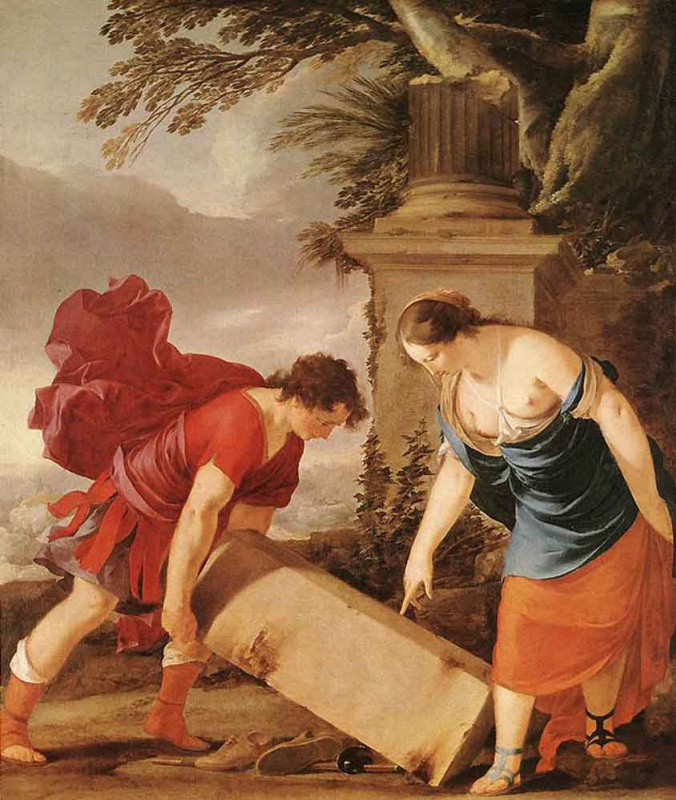 Лоран де Ла Хайр. Тесей и Аэсра