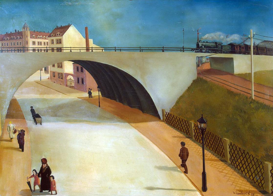 Вильгельм Лахнит. Мост