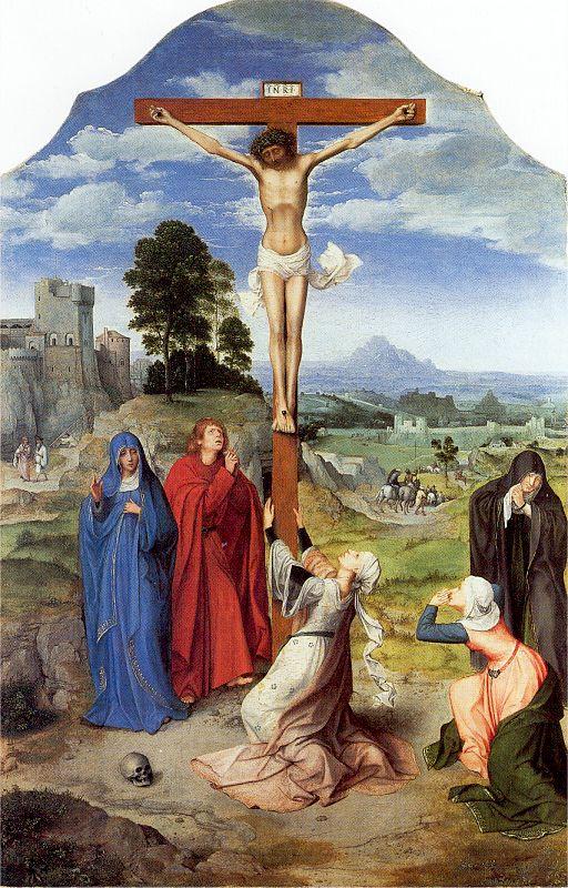 Квентин Массейс. Распятие на кресте