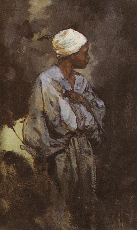Василий Дмитриевич Поленов. Погонщик ослов в Каире